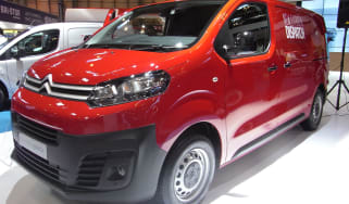 Citroen Dispatch CV Show - front three quarter
