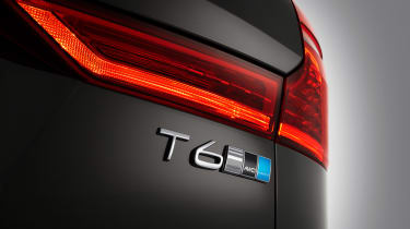 Volvo XC60 Polestar rear T6 badge