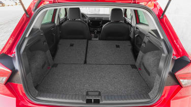 SEAT Ibiza FR 2017 - boot seats down