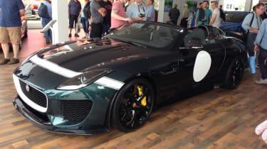 Jaguar Project 7 Goodwood 2014