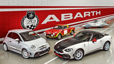Abarth specials: We pick the best of performance brand's back catalogue:  https://www.autoexpress.co.uk/abarth/352192/greatest-ever-abarths