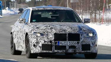 BMW M3 - spyshot 1