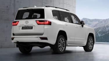 Toyota Land Cruiser - rear static