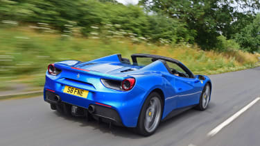Ferrari 488 Spider - rear
