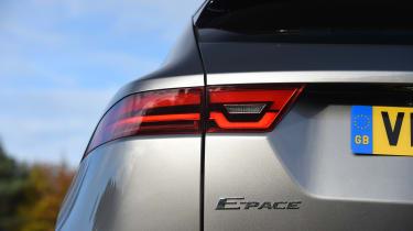 Jaguar E-Pace review - tail light
