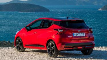 Nissan Micra 2017 petrol - rear quarter