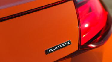 Audi TT Coupe - badge