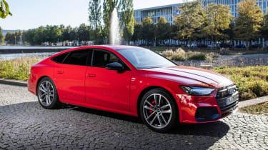 Audi A7 Sportback 55 TFSI e - front static