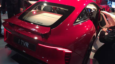 TVR Griffith reveal - rear static