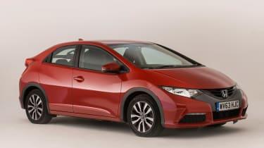 Honda Civic Mk9 - front