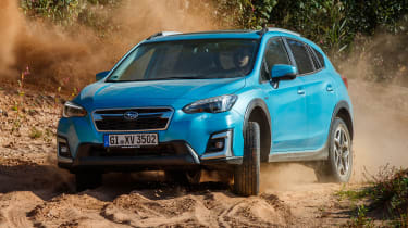 Subaru XV - off-road