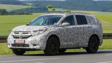 Honda CR-V - spy shots - side action
