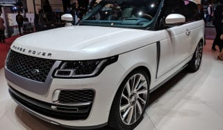 Range Rover SV Coupe - Geneva front