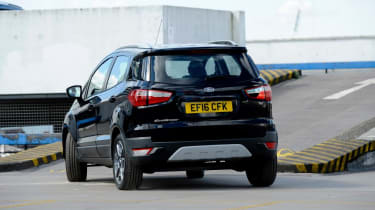 Used Ford EcoSport - rear cornering