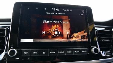 Kia Rio facelift - infotainment