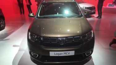 Dacia Logan MCV Paris front