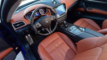 Maserati Ghibli facelift - cabin