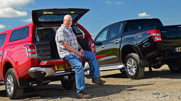 Mitsubishi L200 Long-term test review - tailgate open