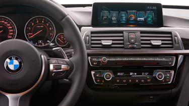 BMW 340i GT - centre console