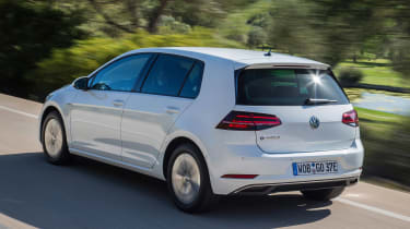 Volkswagen e-Golf - rear