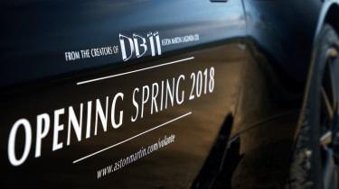 Aston Martin DB11 Volante - side