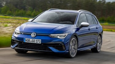 Volkswagen Golf R Estate - front cornering