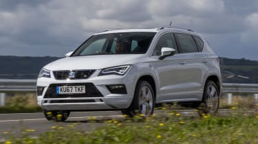 SEAT Ateca 2.0 TSI - front tracking