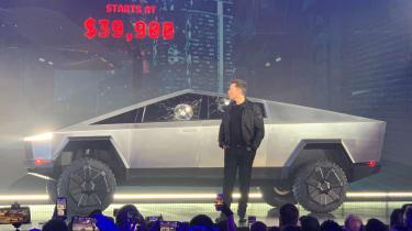Tesla Cybertruck launch event