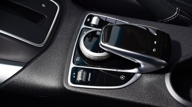 Mercedes X 350 d long-term test - second report centre console