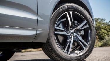New Volvo XC60 review - wheel