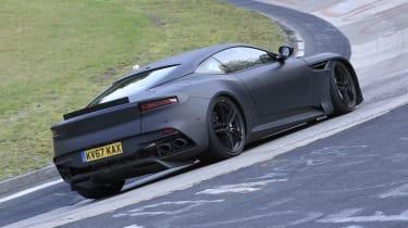 Aston Martin Vanquish 2019 at the Nurburgring