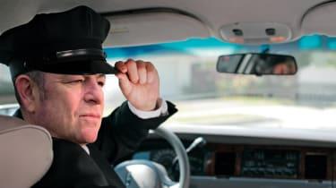Chauffeur Steve Sutcliffe