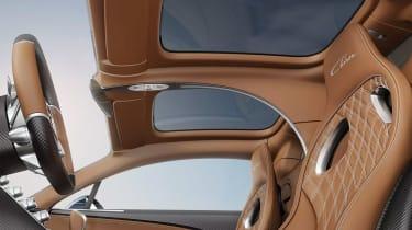 Bugatti Chiron Sky View - inside