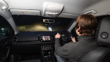 Skoda Karoq - LED tech