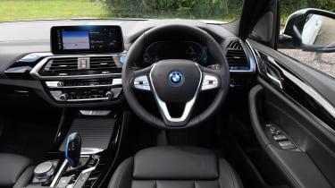 BMW iX3 - dash