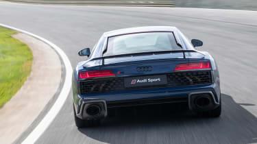 Audi R8 - full rear