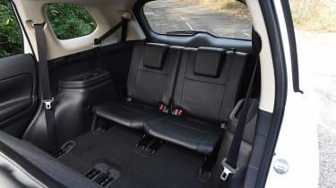 Mitsubishi Outlander - back seats