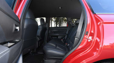Mitsubishi Outlander PHEV - rear seats