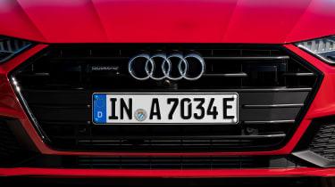 Audi A7 Sportback 55 TFSI e - grille