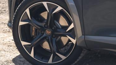 2021 Cupra Formentor alloy wheel