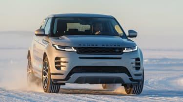Range Rover Evoque prototype - front cornering