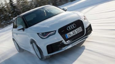 Audi A1 quattro front tracking