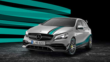 Mercedes A 45 AMG Petronas 2015 WC Edition
