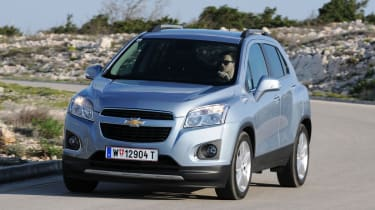 Chevrolet Trax front corner