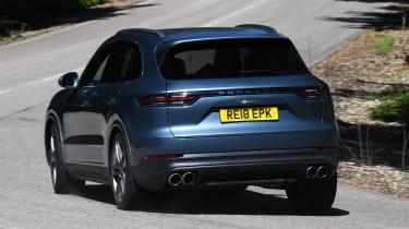 Porsche Cayenne S - rear cornering