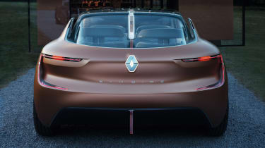 Renault Symbioz - full rear
