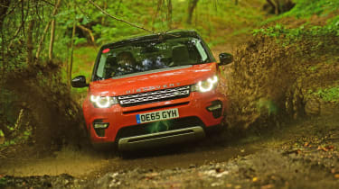 Land Rover Discovery Sport long-term - water splash