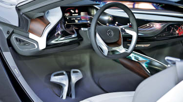 Vauxhall Opel Monza concept coupe 2013 interior