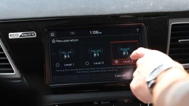 Eco driving tips - Kia e-Niro - energy system