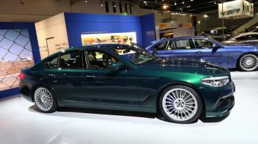 Frankfurt - BMW Alpina D5 S - side
